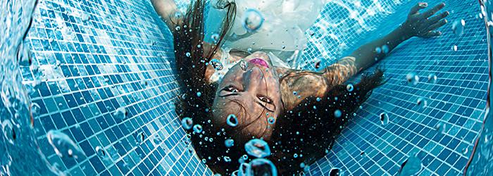 Shooting photo sous l'eau