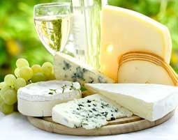 Wein und Käse