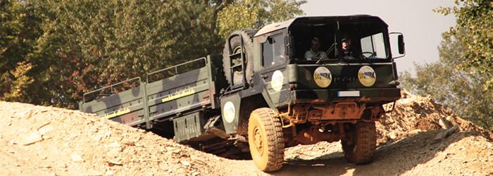 Truck sur tout-terrain!