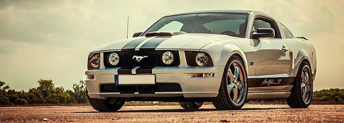 Pilotage Ford Mustang