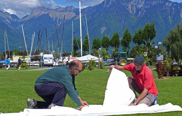segel-regatta-kurs-le-bouveret-einweisung
