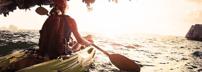 Canoà«-kayak en pleine nature