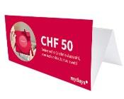 mydays Gutschein CHF 50