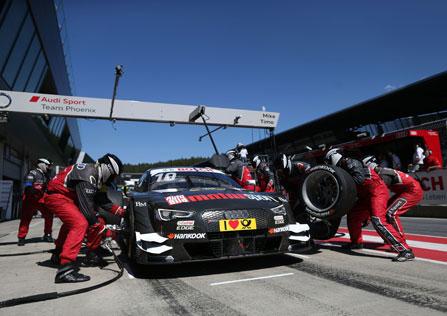 DTM Sonntag Audi Boxenstopp