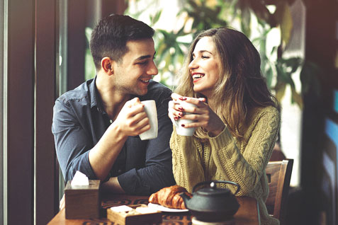 Kaffeeseminar Paar