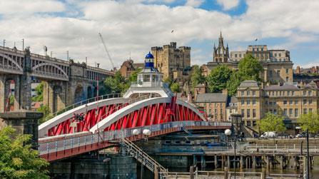 Minikreuzfahrt Newcastle Swing Bridge