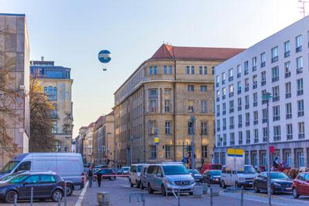 Weltballon Berlin Flug