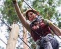 Bild Hochseilgarten - Schenke Tarzan-Feeling im Kletterwald