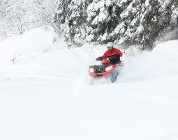 Quad offroad Tour - 2 Stunden - Winter Schneezauber-Tour - 2 Stunden