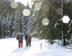 Schneeschuhwanderung (2 Tage Bodenschneid) - 2 Gänge - Neuhaus am Schliersee 2 Tages-Touren inkl. Übernachtung, 2 Gänge Menü