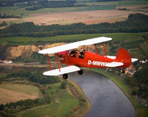 Doppeldecker-Rundflug Großenhain