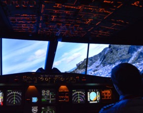 3D-Flugsimulator Hamburg