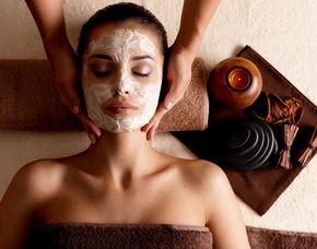 After-Work-Relaxing Gesichtspeeling, Shiatsu-Kopf- und Schulter-Massage, Gesichtsmaske