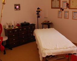 Schönheitsprogramm für Sie Gesichtsbehandlung, Rückenmassage