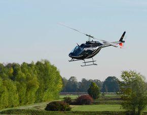Hubschrauber fliegen Bayreuth