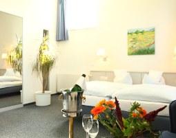 Kuschelwochenende (Voyage d`Amour) - Schieder-Schwalenberg Hotel Landhaus Schieder - 3-Gänge-Dinner, Rosenblütenbad
