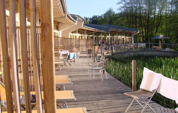 Adventure Camp Schnitzmühle - Abendessen, Wellnessanwendungen