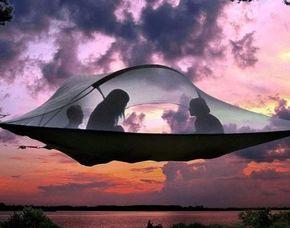 Übernachtung im Baumzelt für Zwei im Baumzelt