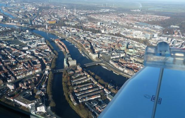 ultraleichtflugzeug-rundflug-ganderkesee-ausblick