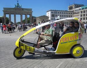 Stadtrundfahrt - Berlin Velotaxi-Tour