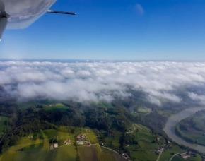 Rundflug Ultraleichtflugzeug 30 Minuten Chiemgau 30 Minuten
