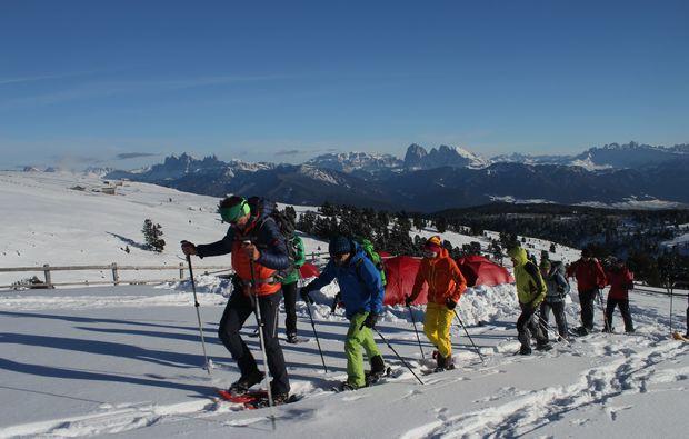 biwak-camp-schneeschuhwanderung