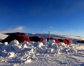 Biwak Camp Südtirol – Villanders/Latzfons im Biwak-Zelt