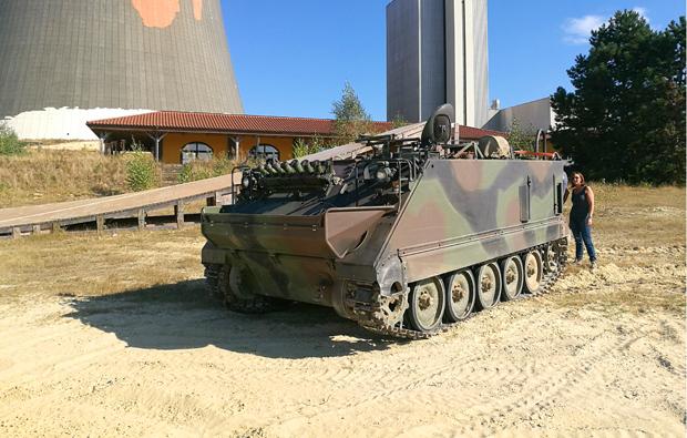 amphibien-panzer-fahren