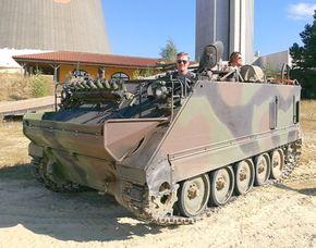 Panzer fahren - Schützenpanzer M113 - 30 Minuten Schützenpanzer M113 selber fahren - 45 Minuten