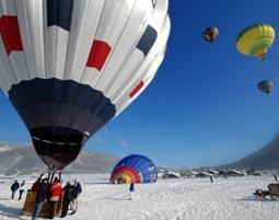 Alpenüberquerung im Heissluftballon Tegernsee Transalpine Ballonfahrt - Alpenüberquerung - 3-5 Stunden