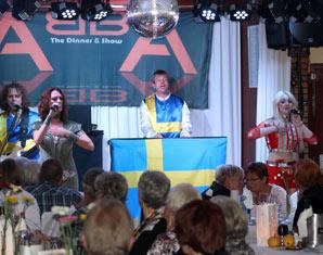 ABBA–Dinnershow - 4-Gänge-Menüffet - Schützenhof - Paderborn Schützenhof - 4-Gänge-Menüffet, inkl. Begrüßungssekt