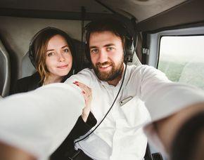 Romantik-Hubschrauber-Rundflug