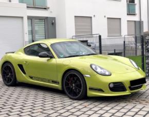 Porsche Cayman R fahren (3 Std.) - München Porsche Cayman R - 3 Stunden