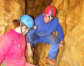 Outdoor - Tag Höhlentrekking inkl. Kletterwald – ca. 6,5 Stunden