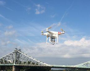 Drohnen-Schnupperfliegen - 1 Einheit 60 Minuten inkl. 20 Minuten Schnupperfliegen