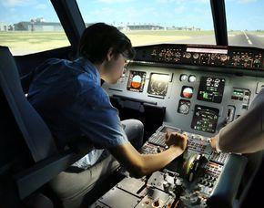 Flight Simulator - Airbus A320 - 2 Stunden Airbus A320 - 2,5 Stunden