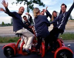 Stadt-Kult(o)ur - Eventbike für bis 6 Personen - Erfurt Eventbike für bis 6 Personen