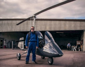 Tragschrauber selber fliegen Genderkingen