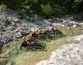 Canyoning und Seesauna - JSMD - Achenkirch Canyoningtag in Gmund am Tegernsee + Wellness in der Seesauna Tegernsee