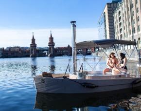 Romantische Bootstour Berlin