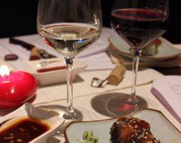 Dine & Wine - Frankfurt 6-Gänge-Menü mit 12 Weinen