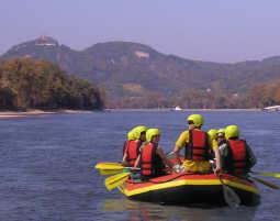 Schlauchboot-Tour - Rhein - ca. 3 Stunden Rhein - ca. 3 Stunden