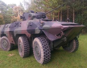 Panzer selber fahren - Rad- und Spähpanzer Luchs - 30 Minuten Rad- und Spähpanzer Luchs - 45 Minuten