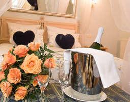 Kuschelwochenende (Voyage d´Amour  für Zwei) Hotel STEIGER Sebnitzer Hof - 4-Gänge-Candle-Light-Dinner