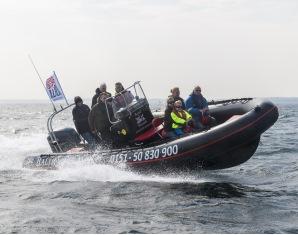 Speedboot fahren - Lübecker Bucht - ca. 1,5 Stunden Lübecker Bucht - ca. 1,5 Stunden