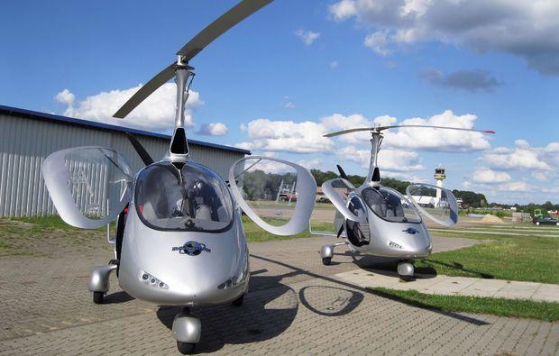 tragschrauber-selber-fliegen-rotenburg-wuemme-flug