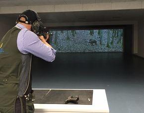 Schießsport für Jedermann   Östringen Schießtraining mit Pistolen, Gewehren - 60 Minuten
