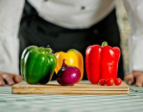 Vegetarische Küche Mehr-Gänge-Menü, inkl. Getränke
