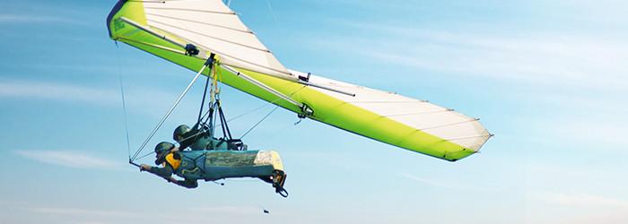 Drachen-Tandemflug