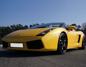Lamborghini selber fahren - Reichelsheim Lamborghini Gallardo Spyder - 60 Minuten mit Instruktor